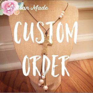 Custom Order for Jaime ❤️
